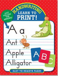 Handwriting: Learn to Print!-Workbook-Peter Pauper Press-The Library Marketplace