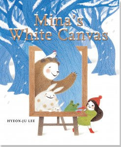 Mina's White Canvas-Hardcover-Peter Pauper Press-The Library Marketplace