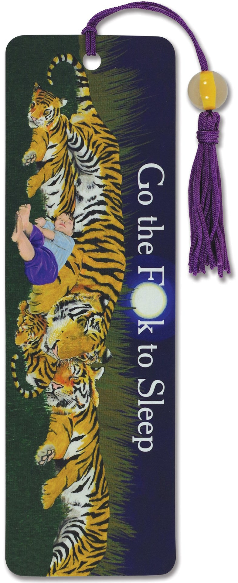 Go the F*ck to Sleep-Beaded Bookmark-Peter Pauper Press-The Library Marketplace