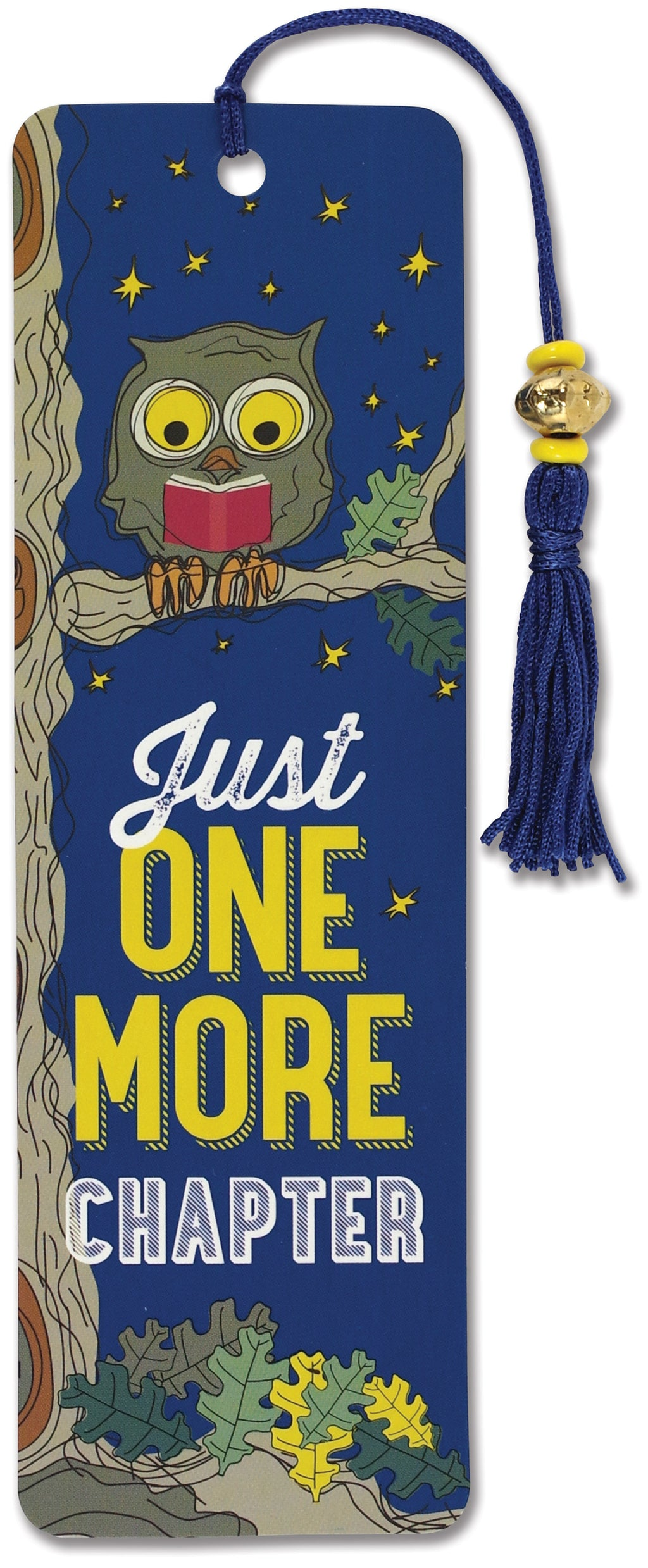 Just One More Chapter Beaded Bookmark-Beaded Bookmark-Peter Pauper Press-The Library Marketplace