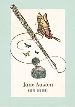 Jane Austen Novel Journal: With Notable Quotations from Jane Austen-Journal-Chronicle Books-The Library Marketplace