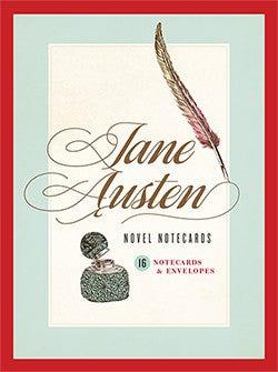 Jane Austen Novel Notecards: 16 Notecards and Envelopes-Cards-Chronicle Books-The Library Marketplace
