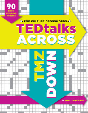 TEDTalks Across, TMZ Down: 90 Brain Boggling Crosswords for Today's Cultural Connoisseurs-Paperback-Chronicle Books-The Library Marketplace