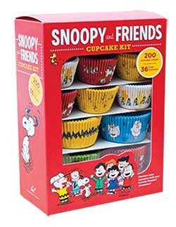 Snoopy and Friends Cupcake Kit: Decorate Your Cupcakes with Your Favorite Peanuts Characters-Cupcake Kit-Chronicle Books-The Library Marketplace