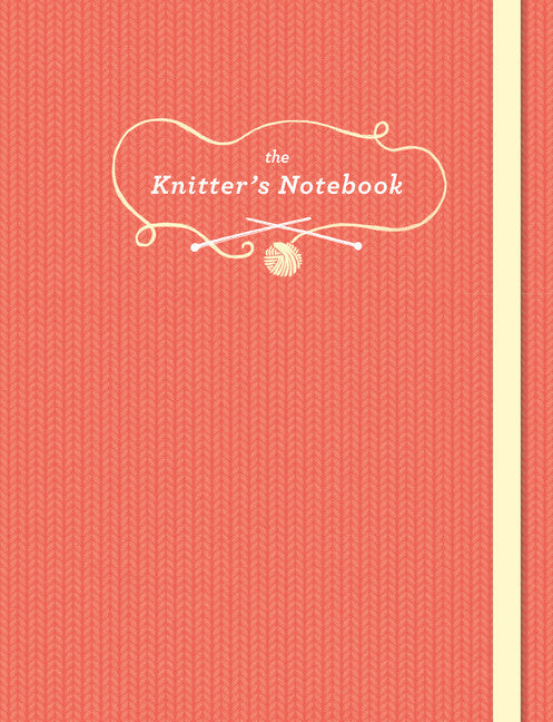 The Knitter's Notebook-Journal-Chronicle Books-The Library Marketplace