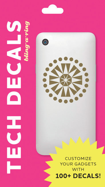 Bling-a-Ring: Tech Decals-Decal-Chronicle Books-The Library Marketplace