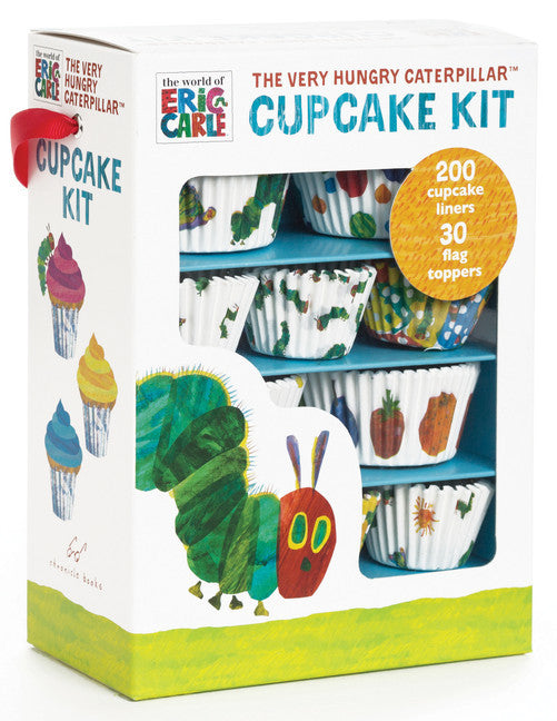 The World of Eric Carle™ The Very Hungry Caterpillar™ Cupcake Kit-Cupcake Kit-Chronicle Books-The Library Marketplace