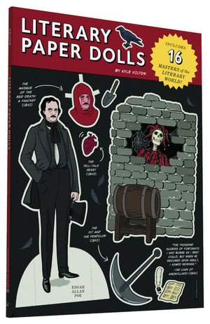 Literary Paper Dolls: Includes 16 Masters of the Literary World! - The Library Marketplace