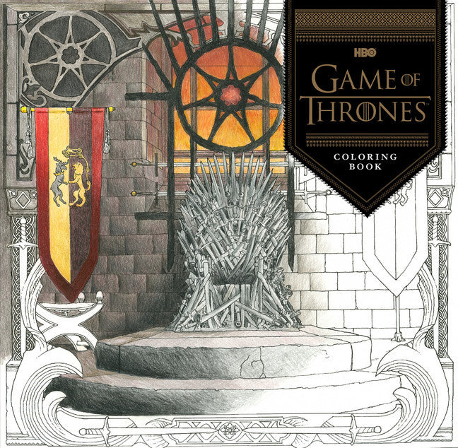 HBO's <em>Game of Thrones&reg;</em> Coloring Book-Colouring Book-Chronicle Books-The Library Marketplace