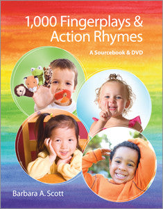 1,000 Fingerplays & Action Rhymes: A Sourcebook and DVD-Paperback + DVD-ALA Neal-Schuman-The Library Marketplace