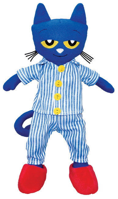 Pete The Cat Bedtime Blues Doll 15""