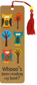 Owls Bookmark - The Library Marketplace