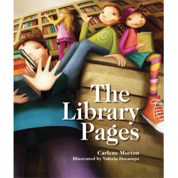 The Library Pages-Hardcover-UpstartBooks-The Library Marketplace