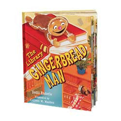 The Library Gingerbread Man-Hardcover-UpstartBooks-The Library Marketplace