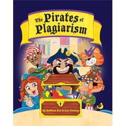 The Pirates of Plagiarism-Hardcover-UpstartBooks-The Library Marketplace