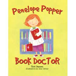 Penelope Popper, Book Doctor-Hardcover-UpstartBooks-The Library Marketplace