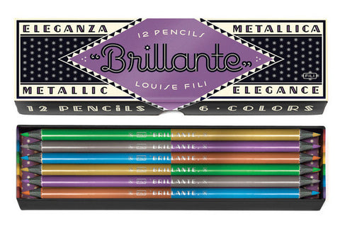 Brillante Pencils-Pencils-Princeton Architectural Press-The Library Marketplace