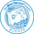 Blue Spruce™ Winner Labels-Stickers-Forest of Reading-The Library Marketplace