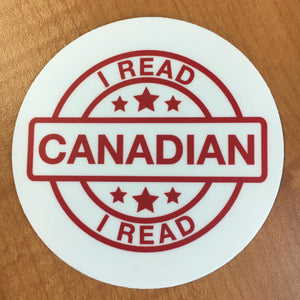 I Read Canadian™ Laptop Sticker-Stickers-Forest of Reading-The Library Marketplace