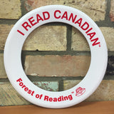 I Read Canadian™ Flying Rings-Flying Ring-Forest of Reading-English-White-The Library Marketplace