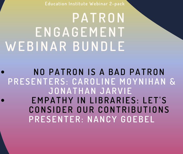 ALA Giveaway Patron Engagement - 2 Pack