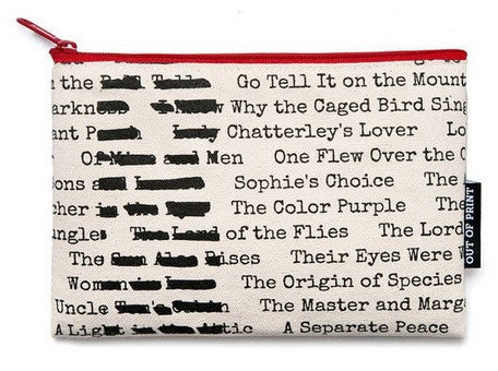 Banned Books Pouch - The Library Marketplace
