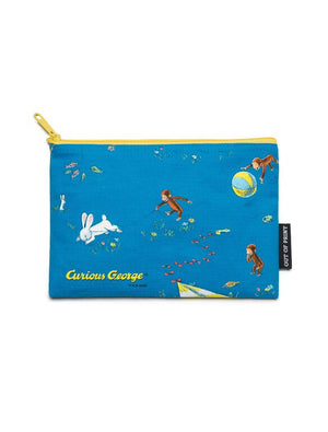 Curious George Rectangular Pouch - The Library Marketplace
