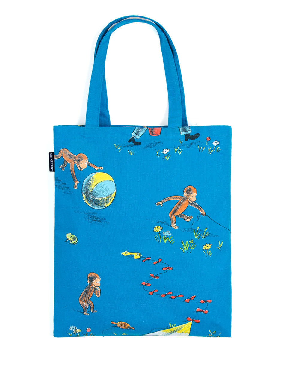 Curious George Tote Bag - The Library Marketplace