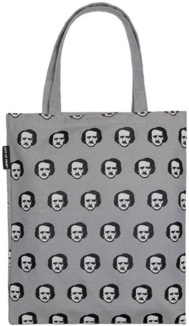 Poe-ka Dot (Gray) Tote Bag