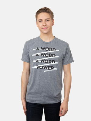 Word is Power Unisex T-Shirt