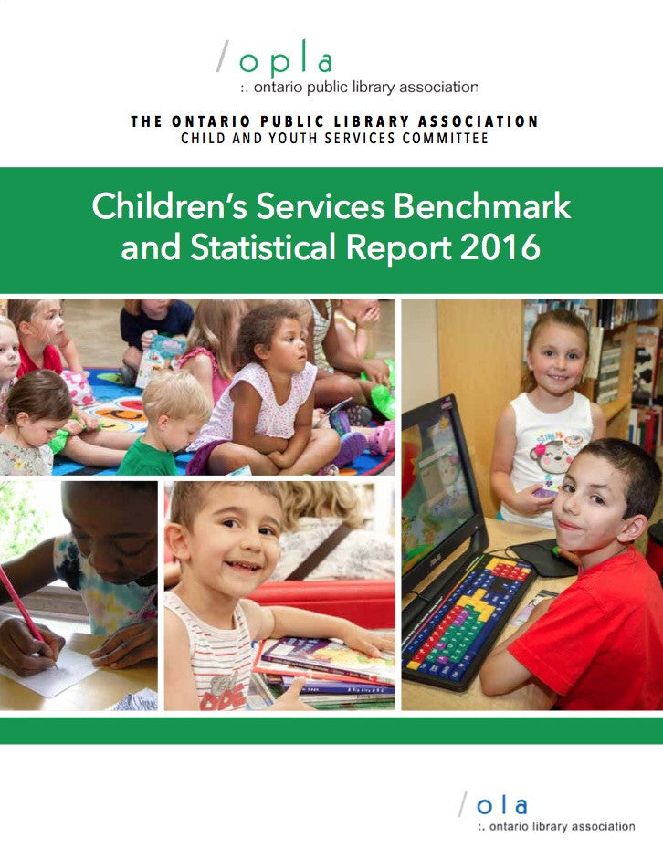 OPLA Children's Services Benchmark & Statistical Report-Paperback-OLA Press-The Library Marketplace