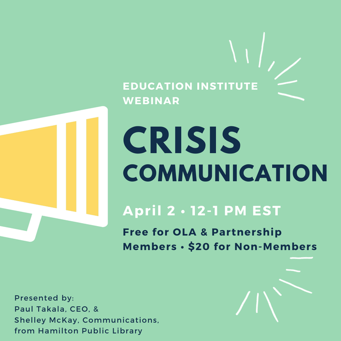 Crisis Communications: Communicating with Consistency and Transparency