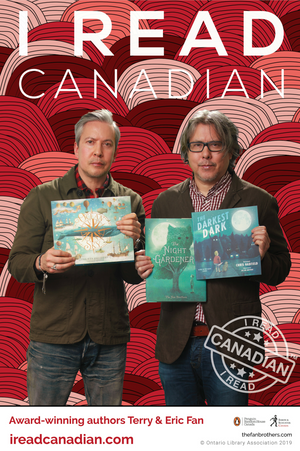 Eric & Terry Fan Poster - I Read Canadian