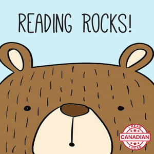 I Read Canadian™ Stickers 10/pack-Stickers-library.lust-Reading Rocks!-The Library Marketplace