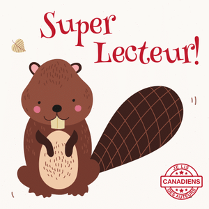 I Read Canadian™ Stickers 10/pack-Stickers-library.lust-Super lecteur!-The Library Marketplace