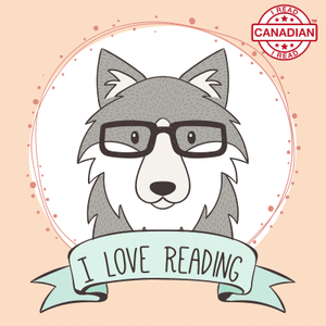 I Read Canadian™ Stickers 10/pack-Stickers-library.lust-I Love Reading-The Library Marketplace