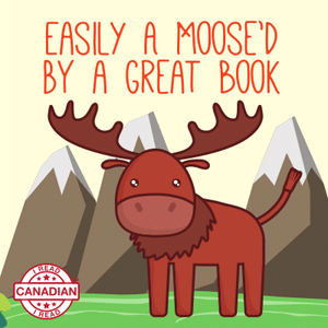 I Read Canadian™ Stickers 10/pack-Stickers-library.lust-Easily a Moose'd-The Library Marketplace