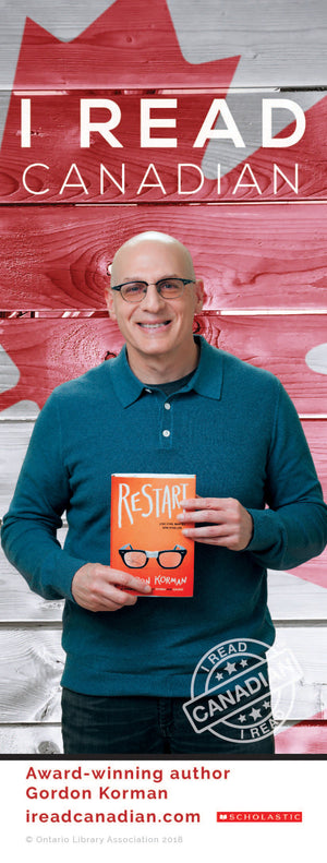 Gordon Korman Bookmark