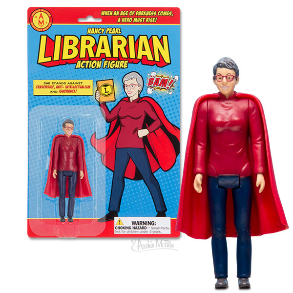 Nancy Pearl Librarian Action Figure-Action Figure-Archie McPhee-The Library Marketplace