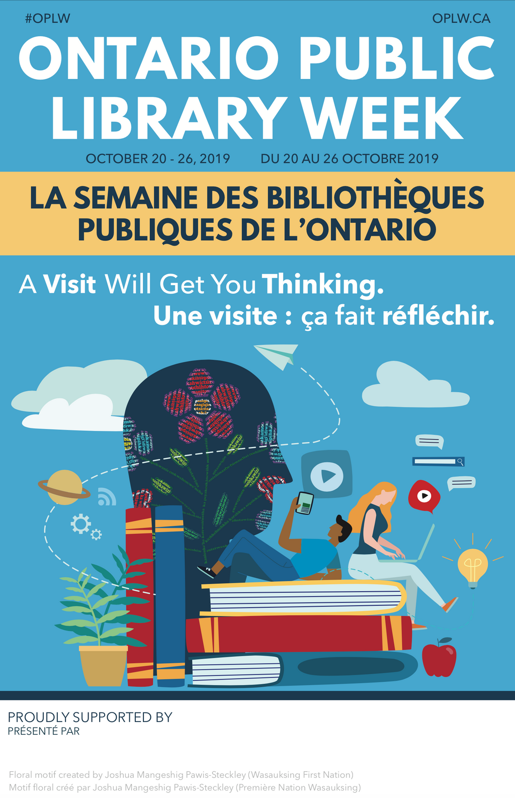 Ontario Public Library Week Poster