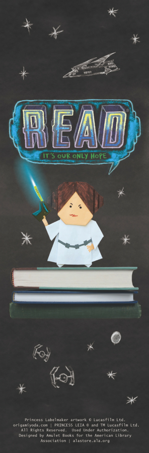 Princess Labelmaker Bookmark