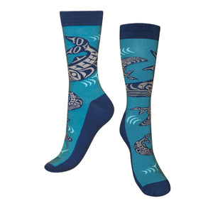 Native Northwest Art Socks