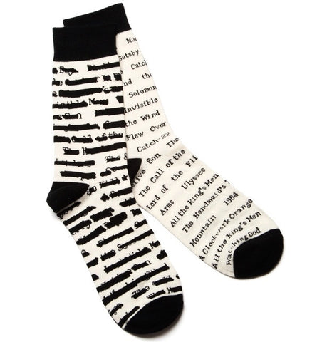 Banned Books Socks - The Library Marketplace