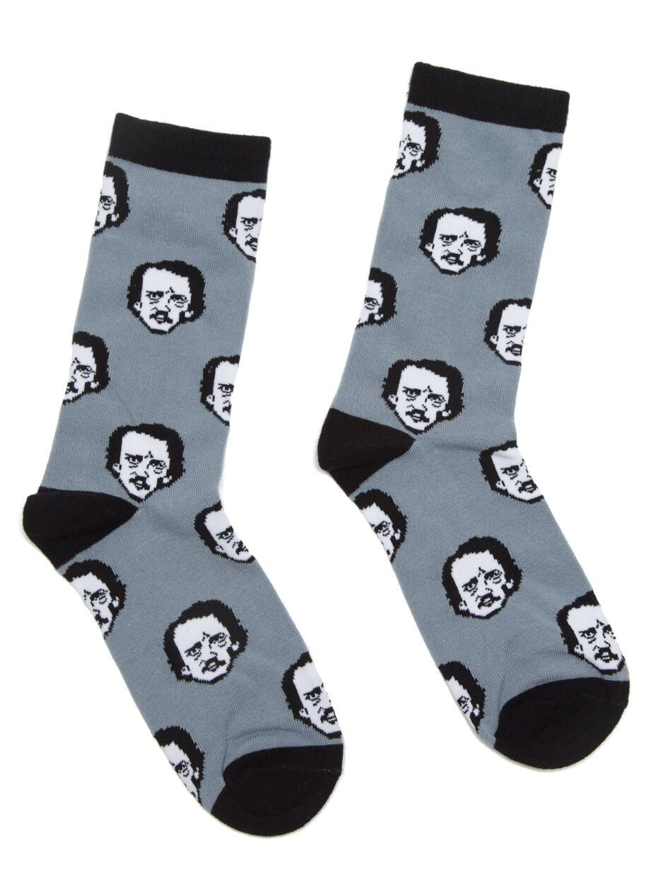 Poe-ka Dot Socks - The Library Marketplace