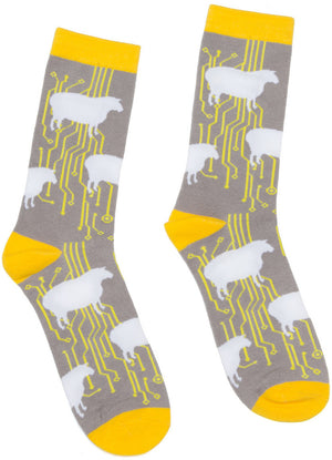 Do Androids Dream of Electric Sheep? Socks - The Library Marketplace