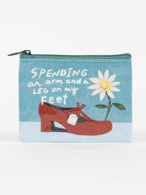 Spending an Arm & a Leg On My Feet Coin Purse