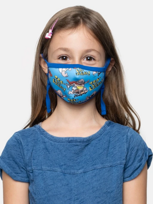 The Adventures of Captain Underpants kids' face mask (adjustable)