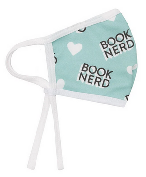 Book Nerd Face Masks (Adjustable)