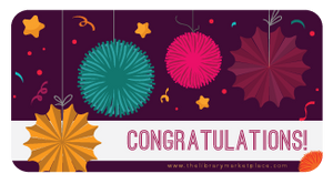 Congratulations! Gift Card-Gift Card-The Library Marketplace-The Library Marketplace