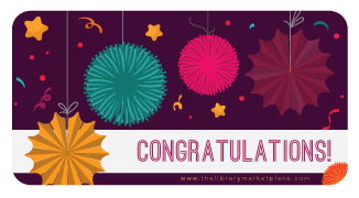 Congratulations! Gift Card - The Library Marketplace